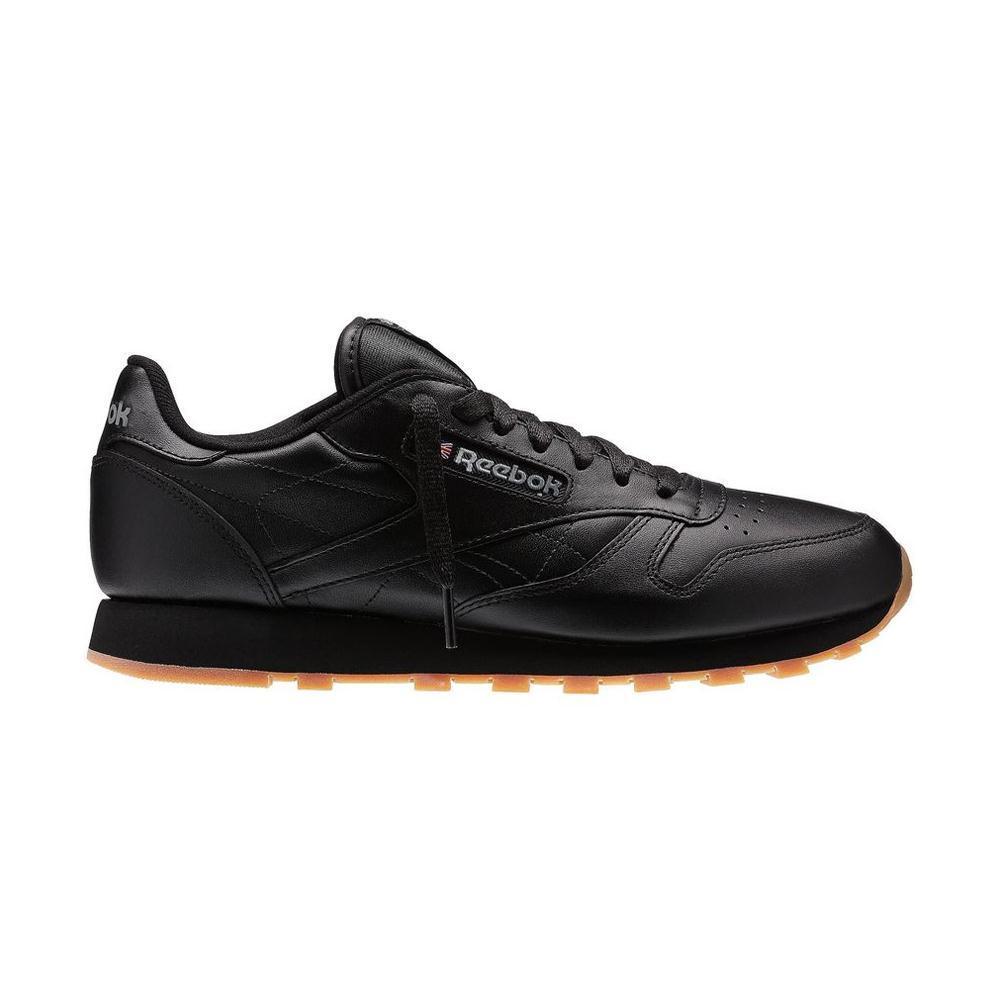 Reebok Zapatillas Hombre - Classic Leather Negras - megasports a83100b90