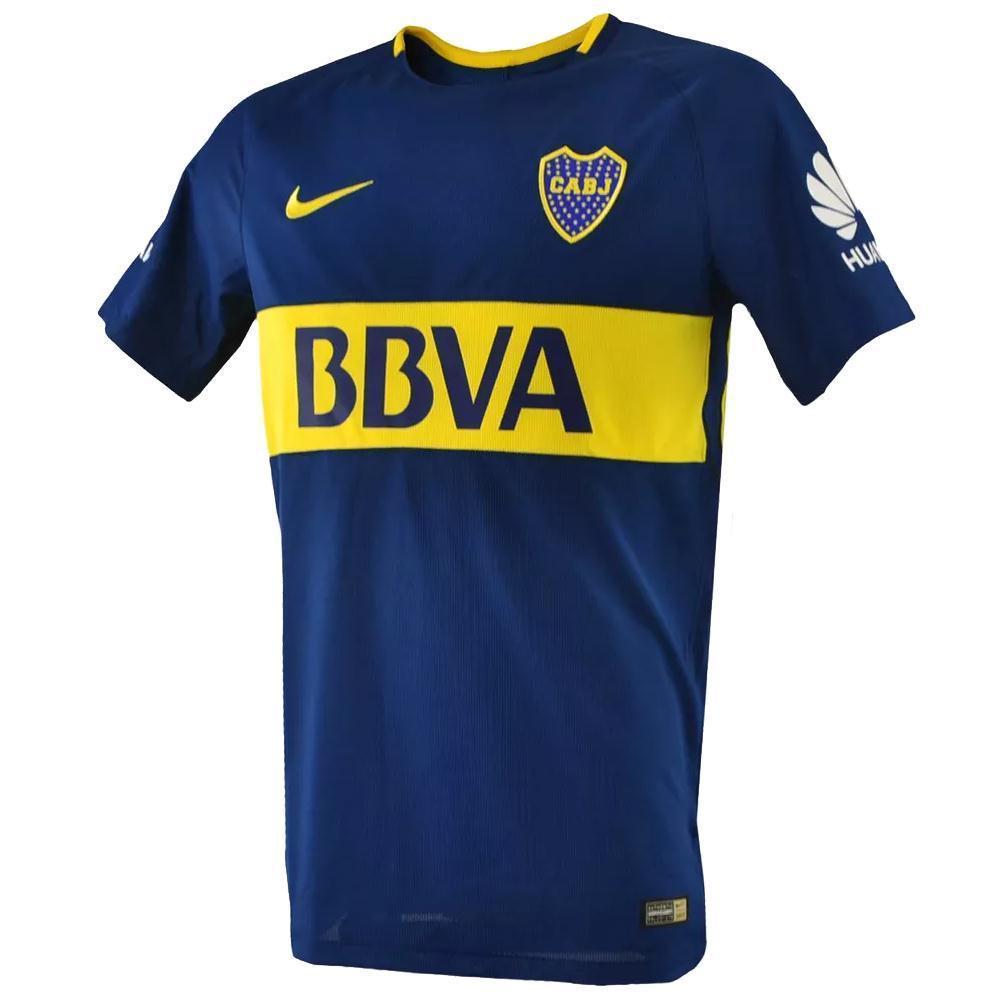 5dfd2022ee38a Nike Camiseta Titular - Boca Juniors 17 18 MATCH - megasports