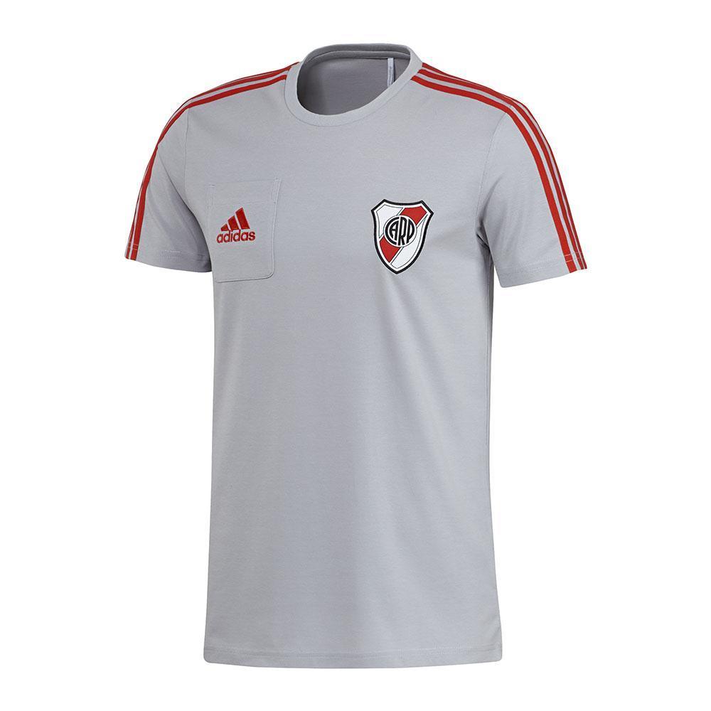 Adidas Remera Entrenamiento - River Plate Tee 2017 18 - megasports b94d80e8cf385