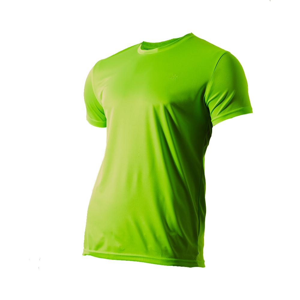 1746611cc2ccf Mega Sports Remera Hombre - Basic Neon Green - megasports